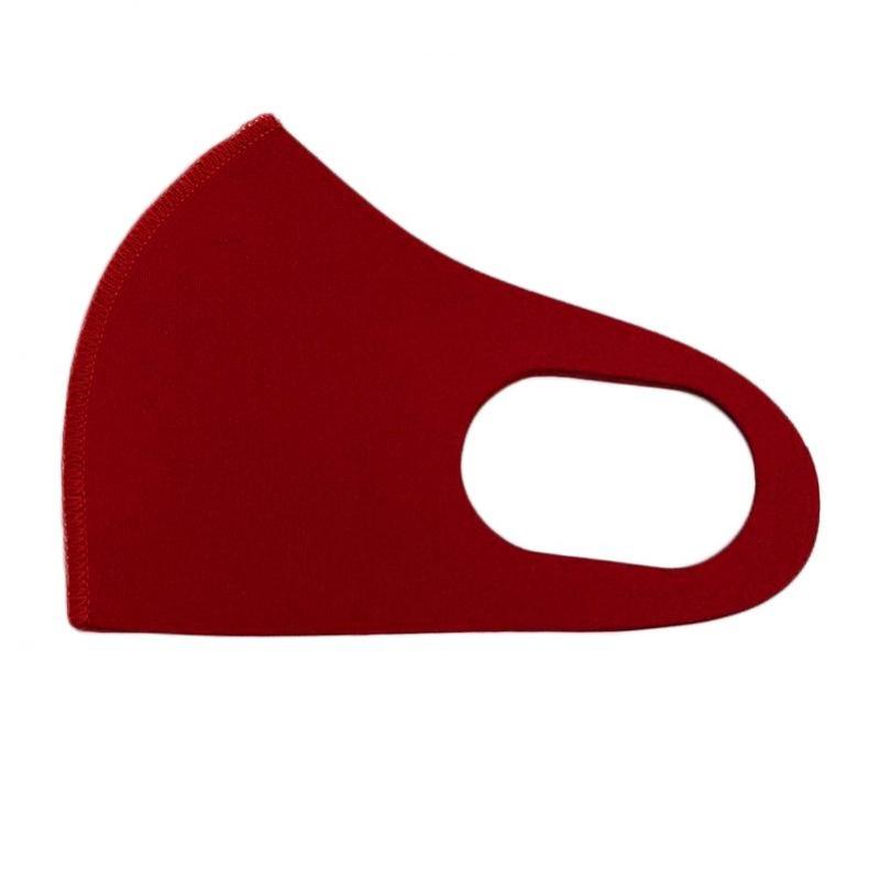 Маска защитная многоразовая M/L средний/большой из неопрена красная