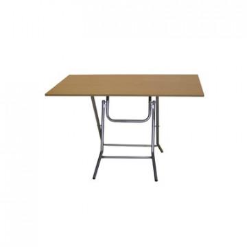 Стол обеденный Ривьера (1200х700), П1.66.15, h750, металлик, бук 255
