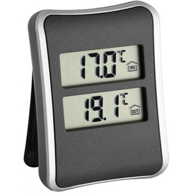 Термометр цифровой TFA 30.1044 с внешним проводным датчиком