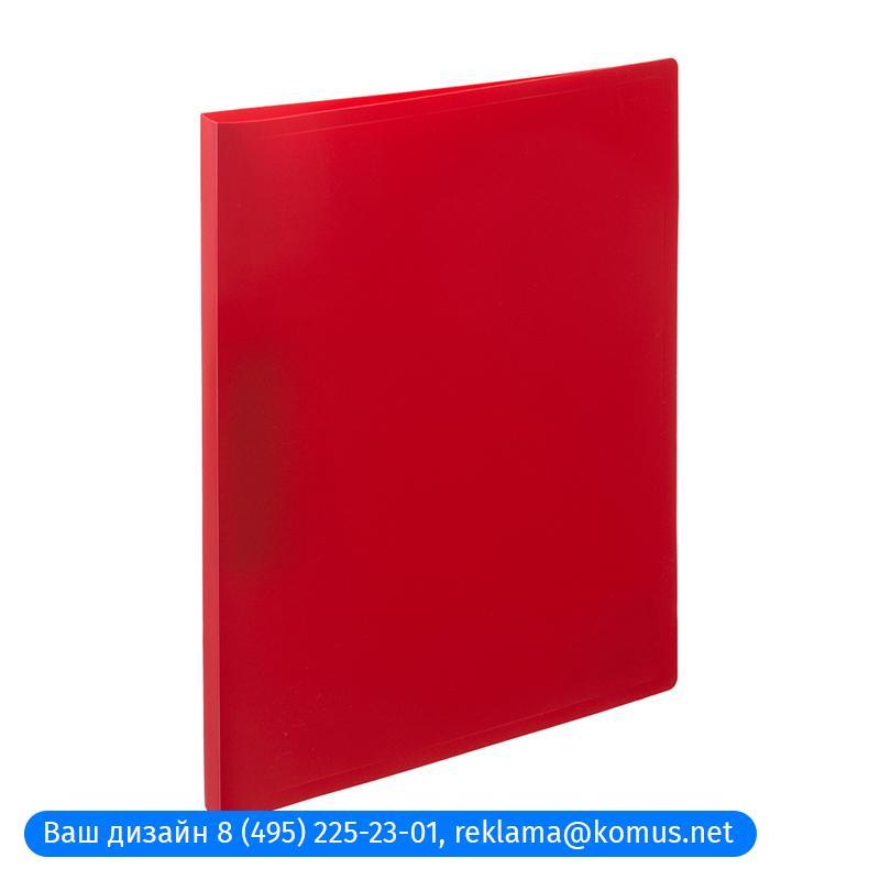 Папка с зажимом Attache Economy 055Z-E красный