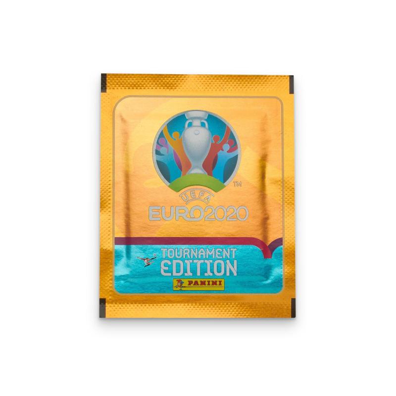 Наклейки UEFA EURO 2020Tournament Edition Panini