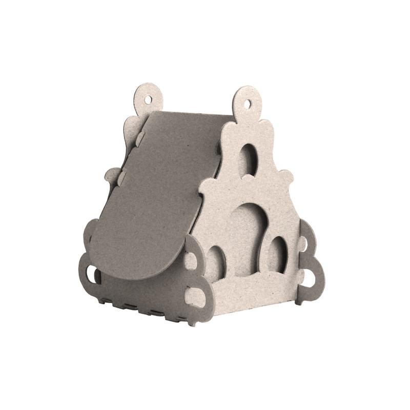 Набор для творчества сборный картонный домик для раскраш.,Пион,30010-501