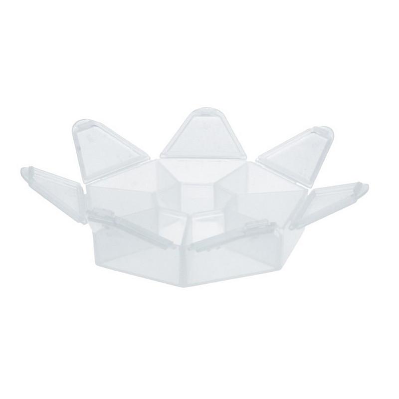 Коробки для швейных принадлежностей Gamma, пластик прозрачный, T-36