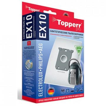 Пылесборник синтетич. для пылелсосов Topperr EX 10(4шт.в ед