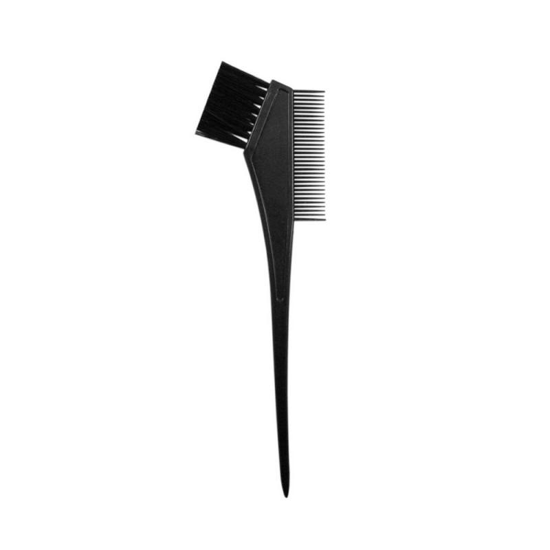 Кисть для окраски волос Lei 30мм, с расчёской, черная 301001
