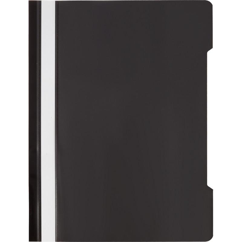 Скоросшиватель пластиковый A4 Attache 150/180Элементари,черный