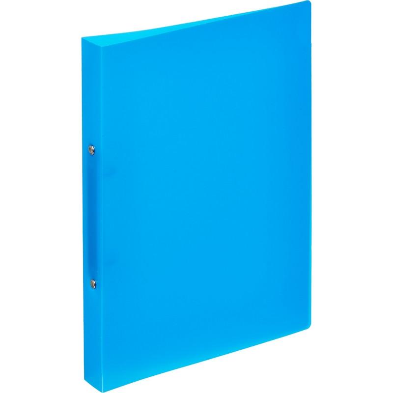 Папка на 2-х кольцах пласт. 17/32мм А4 ATTACHE F502/045 синяя