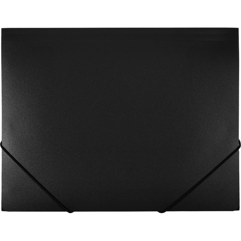 Папка на резинках ATTACHE F315/06 черная