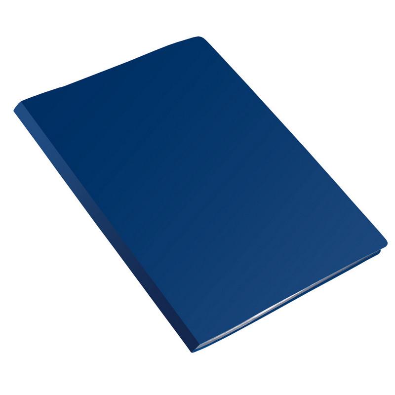 Папка на 2-х кольцах Attache 20мм Label синяя