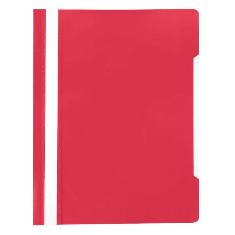 Скоросшиватель пластиковый A4 Attache 150/180Элементари, красный