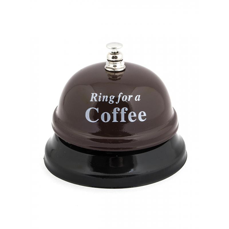 Звонок  настольный Ring for a Coffe Эврика арт.95093