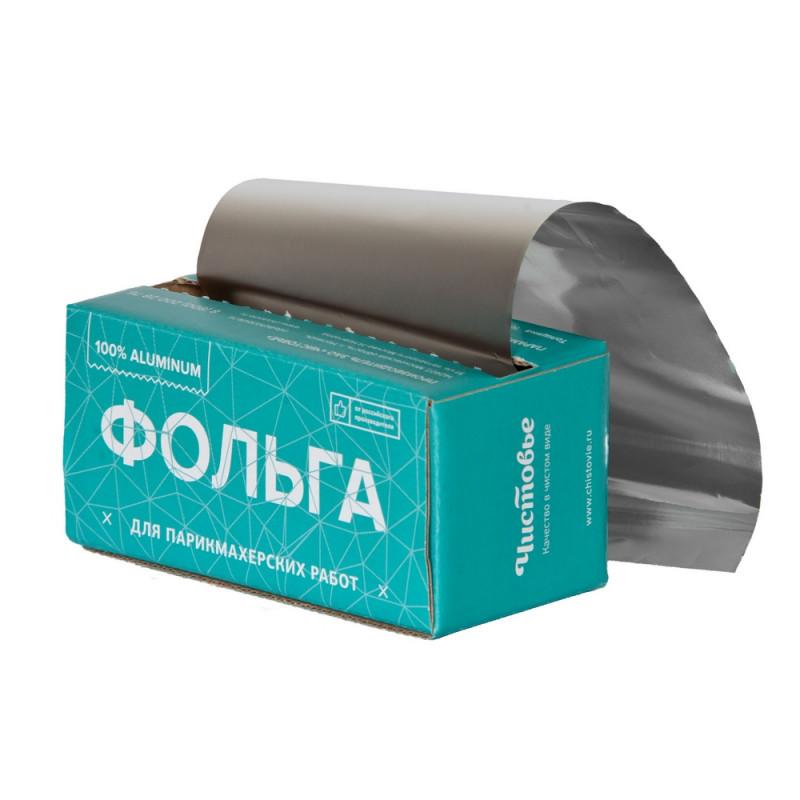 Фольга для парикмахерских услуг 18 мкр 100м в коробке, 600-189