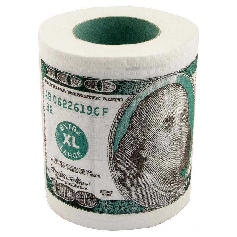 Сувенир Бумага туалетная 100' мини  09124