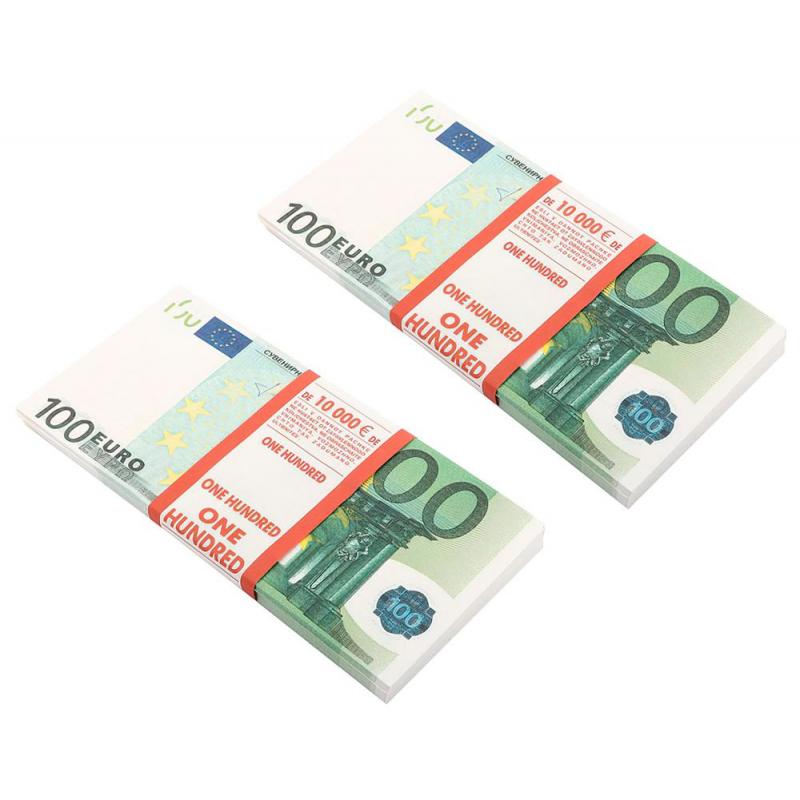 Сувенир деньги 100 евро 2 пачки арт 99743