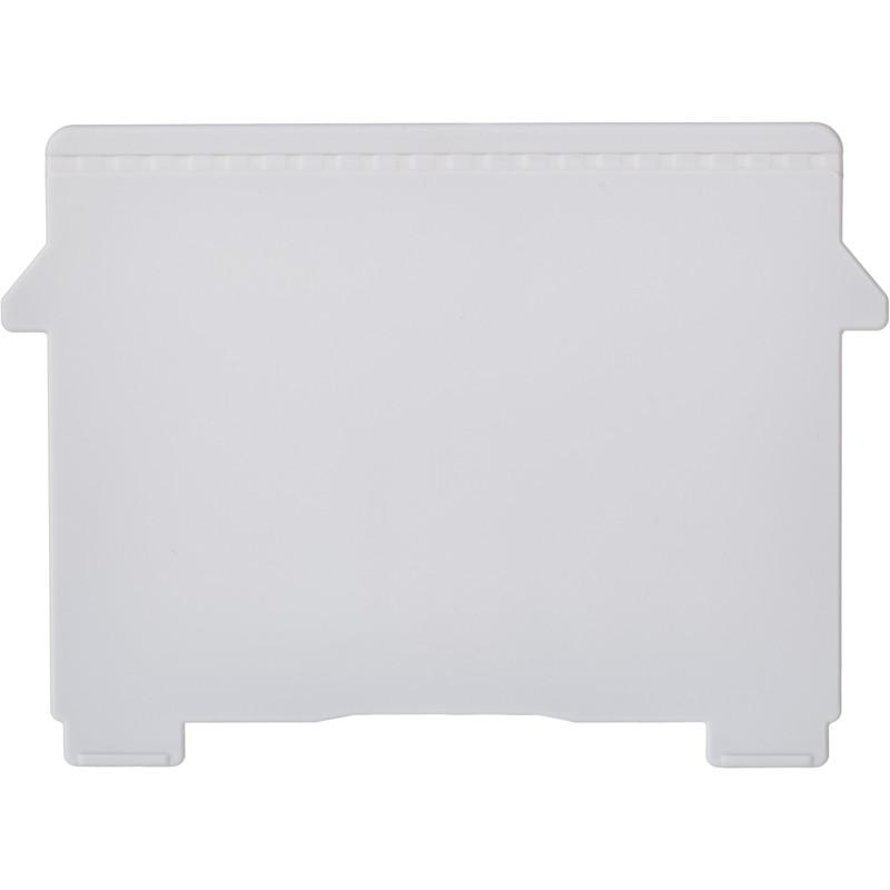 Картотека пластиковый разделитель для картотеки А7,2 шт/уп.54040D