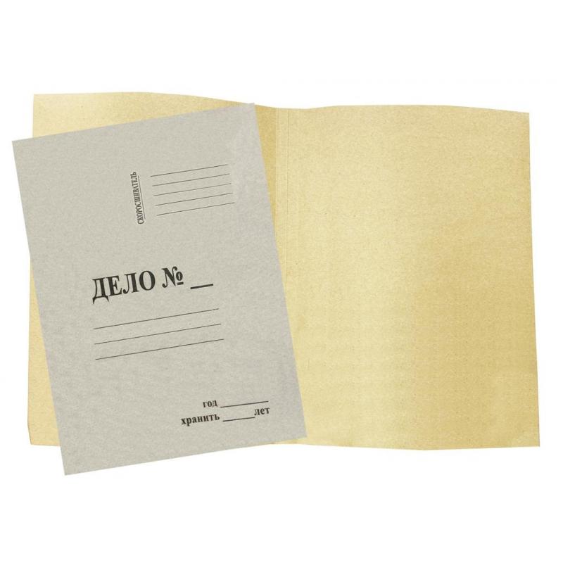 Папка-обложка дело Attache Economy, 100 шт/уп.пакет