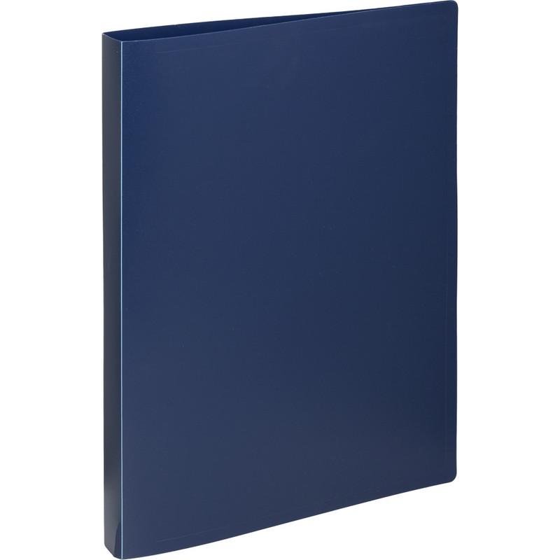 Папка на 2-х кольцах пласт. 16/25мм А4 Attache Economy синяя