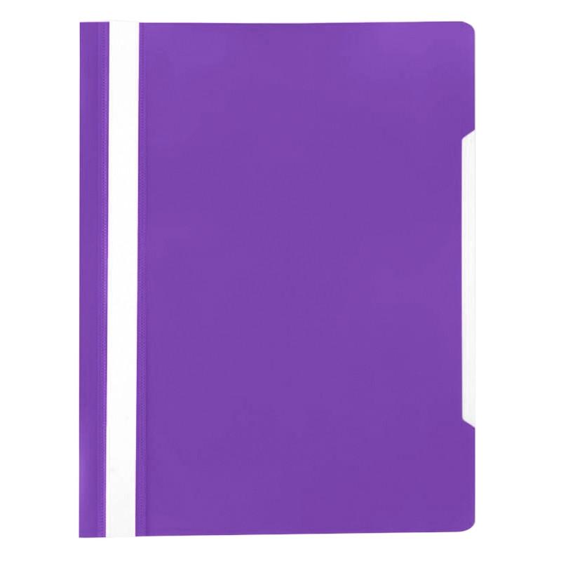 Скоросшиватель пластиковый A4 Attache 150/180Элементари,фиолетовый