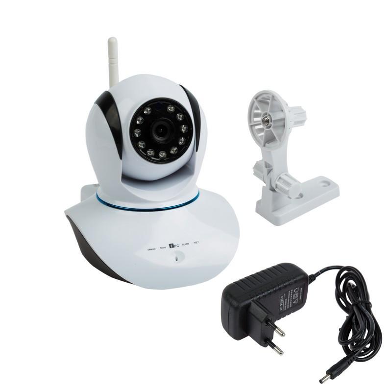 Камера REXANT беспроводная поворотная WiFi Smart 1.0Мп/ИК 10 м(45-0275)