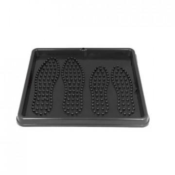 Мебель для дома ET_Лоток для обуви (43x39x3,5) LT0301 черный